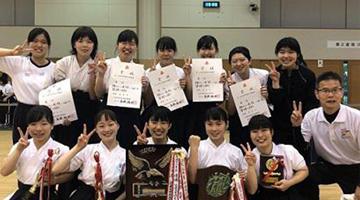 なぎなた県大会5連覇