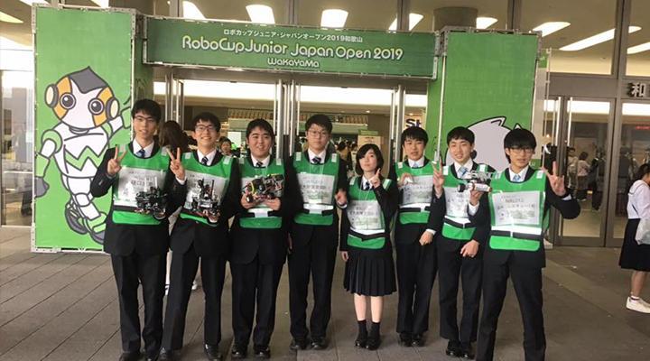 ロボカップジュニアジャパンオープンに参加しました