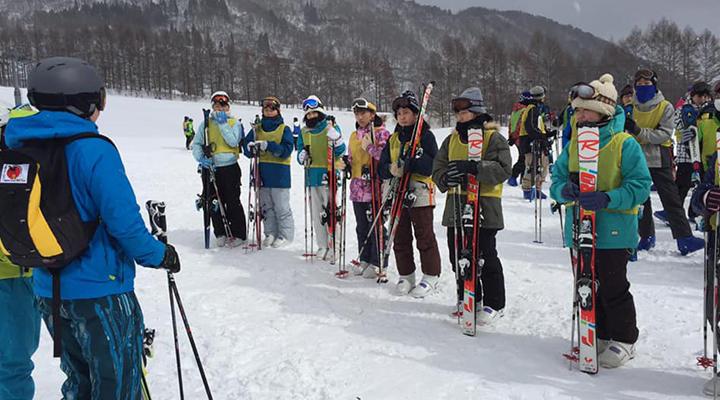 1月22日-23日スキー合宿